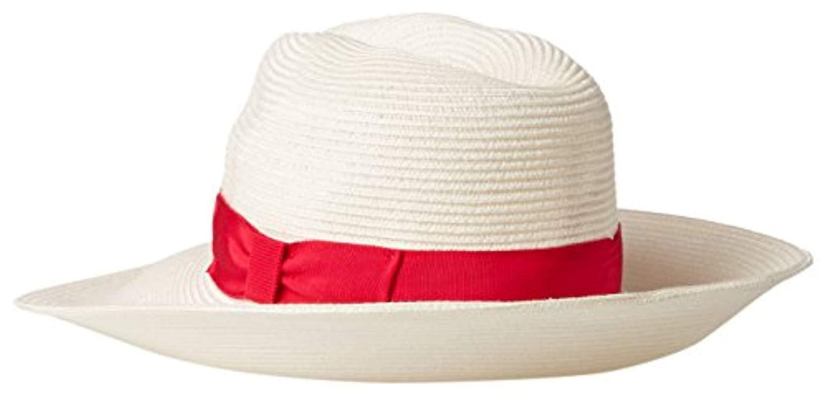 Gottex - Multicolor Alhambra Packable Fedora Sun Hat 3b431ce3be23
