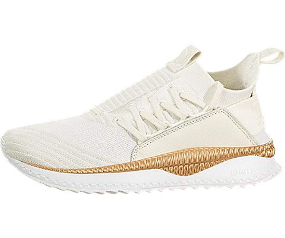 36e8d077b03 Lyst - PUMA Tsugi Jun Knit Sneaker in White - Save 35.71428571428571%