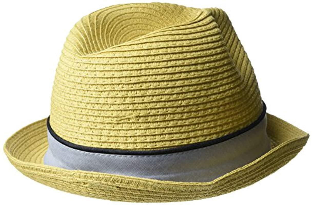dd970d2f12c Original Penguin - Natural Straw Porkpie Hat for Men - Lyst. View fullscreen