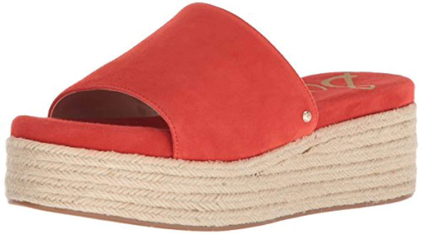 e741e3f5e2016c Lyst - Sam Edelman Weslee in Red - Save 28%