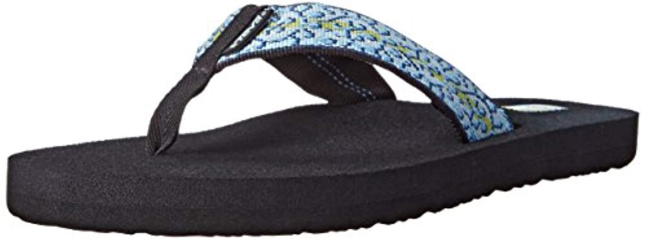 207956ff8e78 Lyst - Teva Mush Ii Flip-flop Two-pack in Black