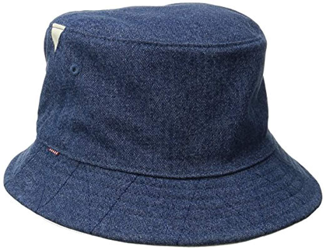 2d16195be38 Lyst - Herschel Supply Co. Lake Bucket Hat in Blue for Men