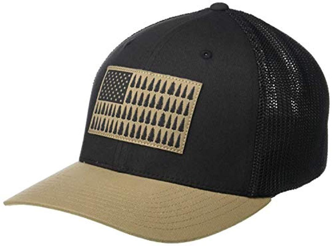 42057684c9b Lyst - Columbia Mesh Tree Flag Ball Cap for Men