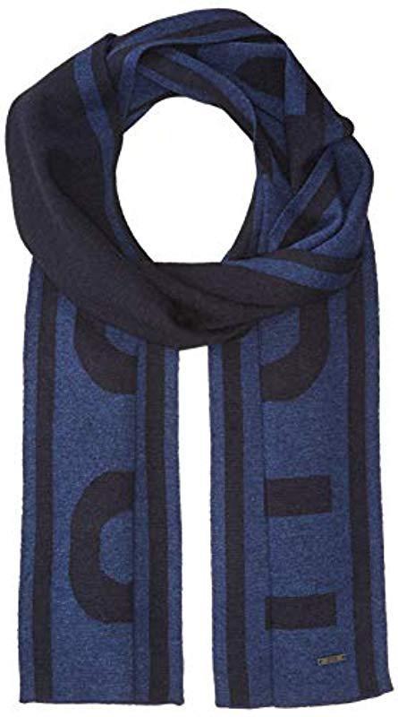 cca98a60 Lyst - BOSS Ebrami Knitted Cap in Blue for Men