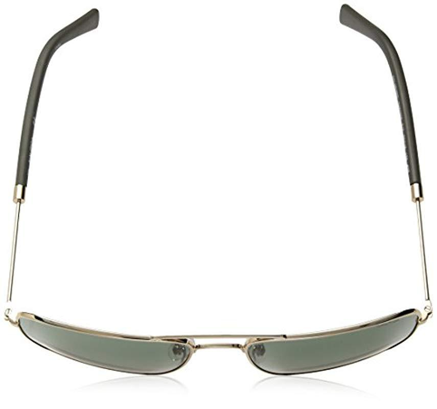 0b72d794ca Nautica - Metallic N4632sp Polarized Aviator Sunglasses Gold 59 Mm for Men  - Lyst. View fullscreen