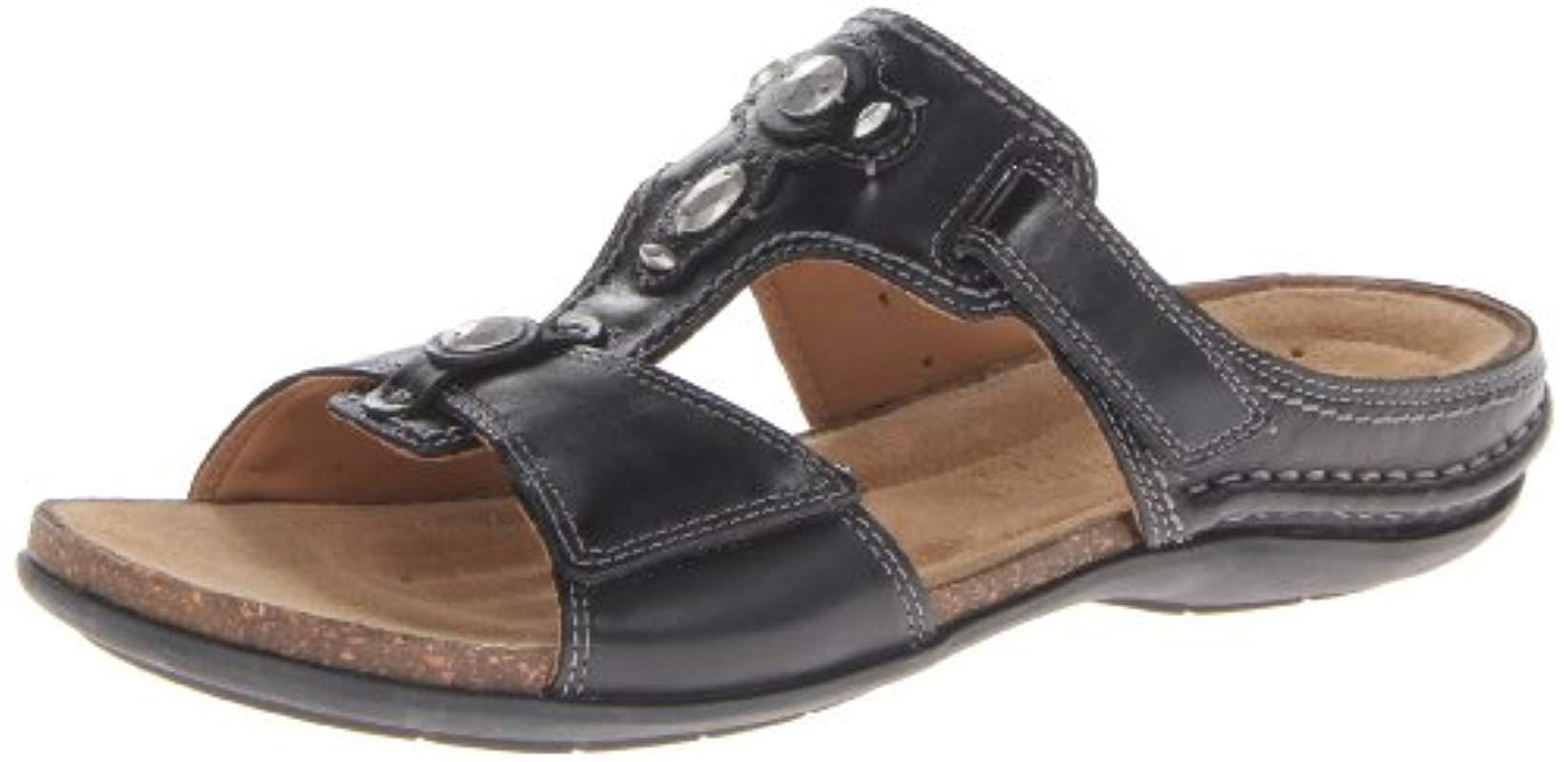 46ea85f3e Lyst - Clarks Palmarita Gladiator Sandal in Black - Save 20%