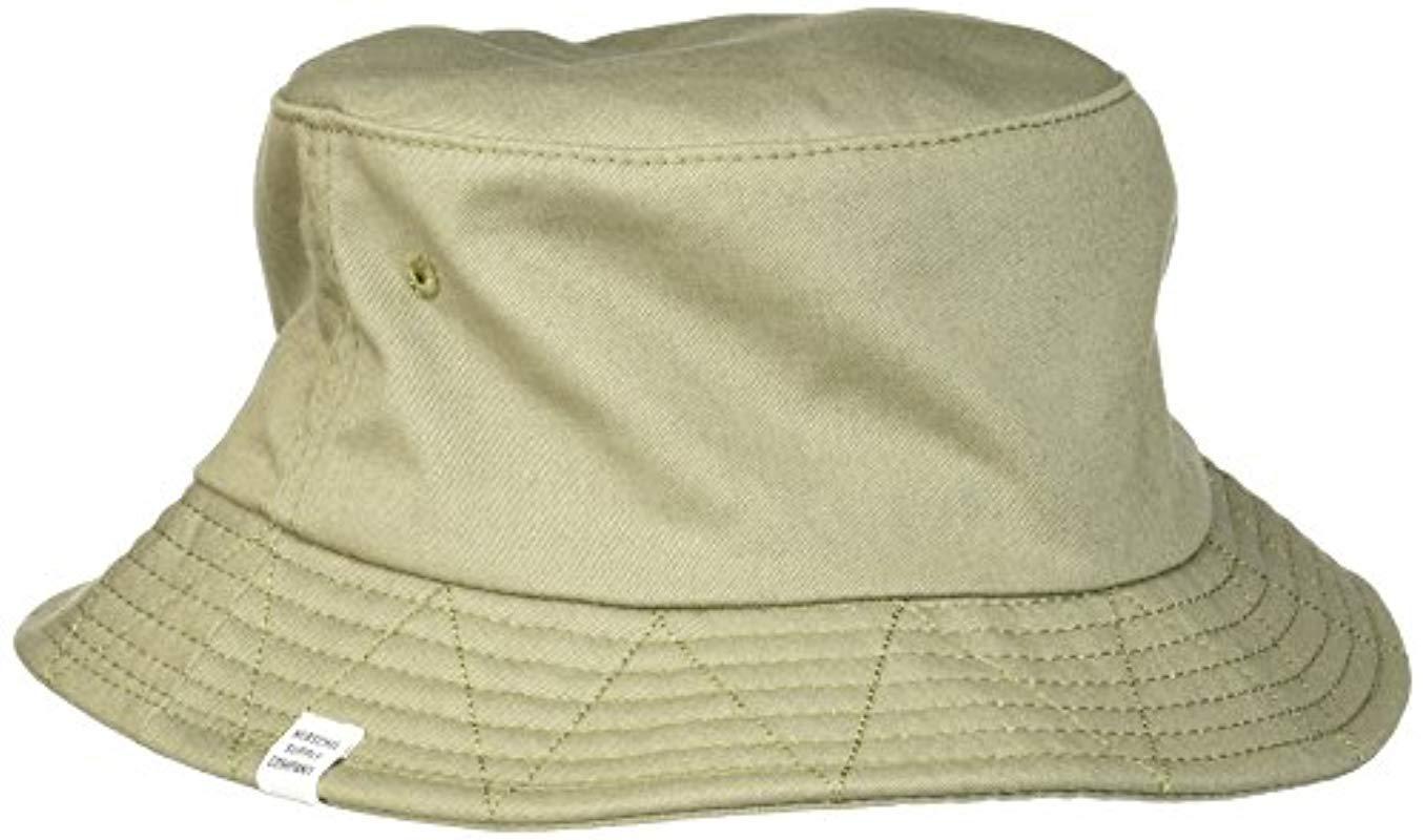 Lyst - Herschel Supply Co. Lake Bucket Hat in Green for Men fdefafbde848