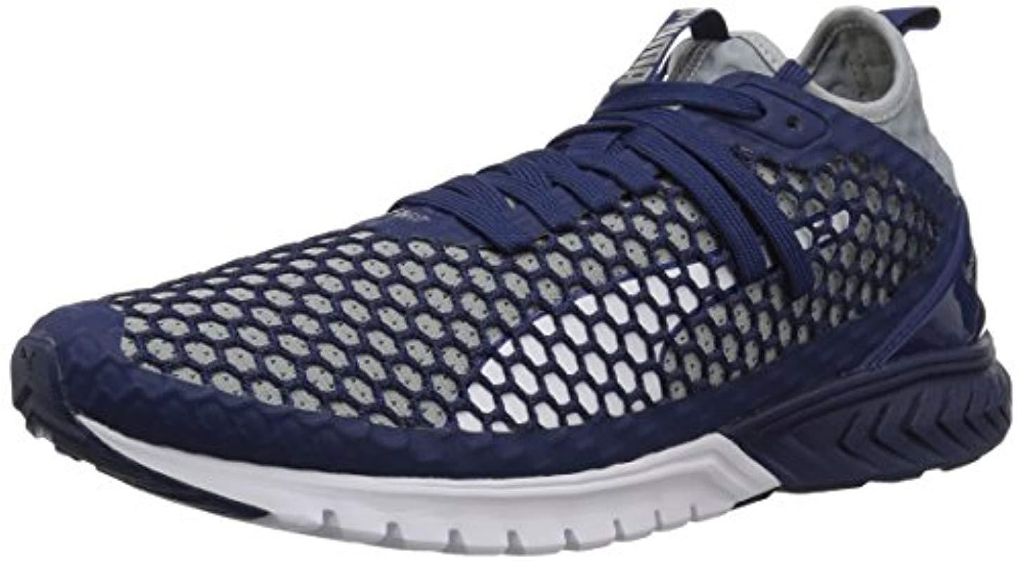 PUMA - Blue Ignite Dual Netfit Cross Trainer for Men - Lyst. View fullscreen fe2d622e9