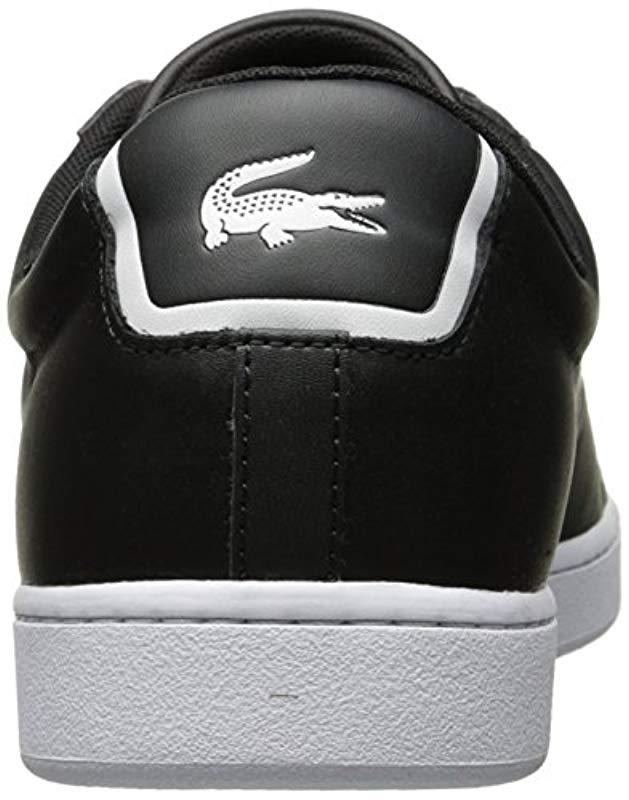 ec85af0fd Lyst - Lacoste Carnaby Evo Bl 1 (black) Men s Shoes in Black for Men - Save  38%