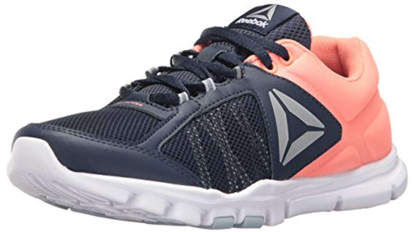 0eafeded779e87 Lyst - Reebok Bd4823 Fitness Shoes in Blue - Save 23.728813559322035%