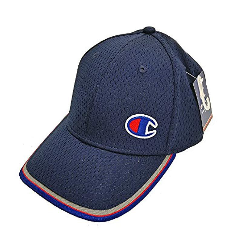 99ae68de2731 Lyst - Champion Pick And Roll Stretch Fit Cap in Blue for Men