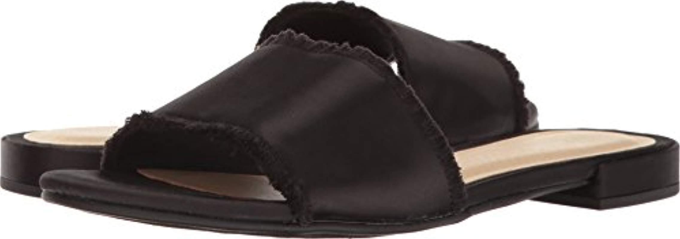 4906dc648805 Lyst - Chinese Laundry Pattie Slide Sandal in Black - Save 61%