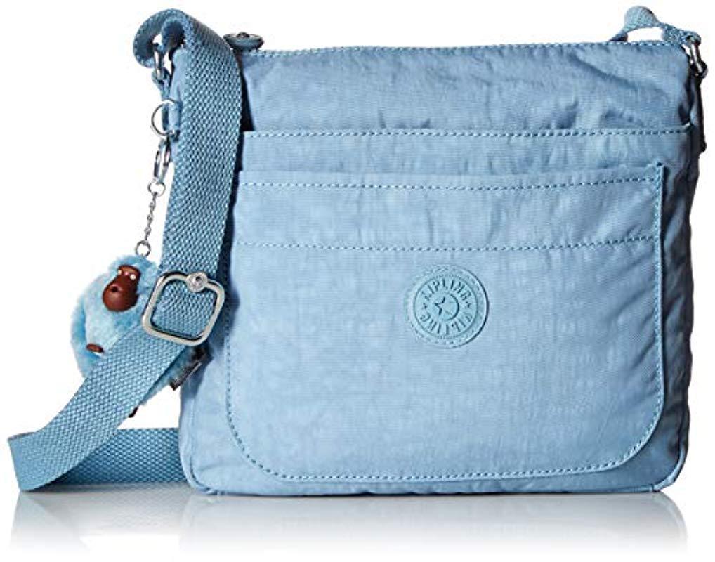 Lyst - Kipling Womens Sebastian Crossbody Bag in Blue 825a7b3c19b25