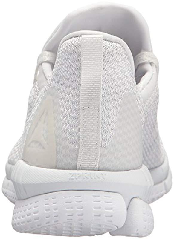 aed15be2b81b Reebok - White Print Her 2.0 Thrd Running Shoe - Lyst. View fullscreen