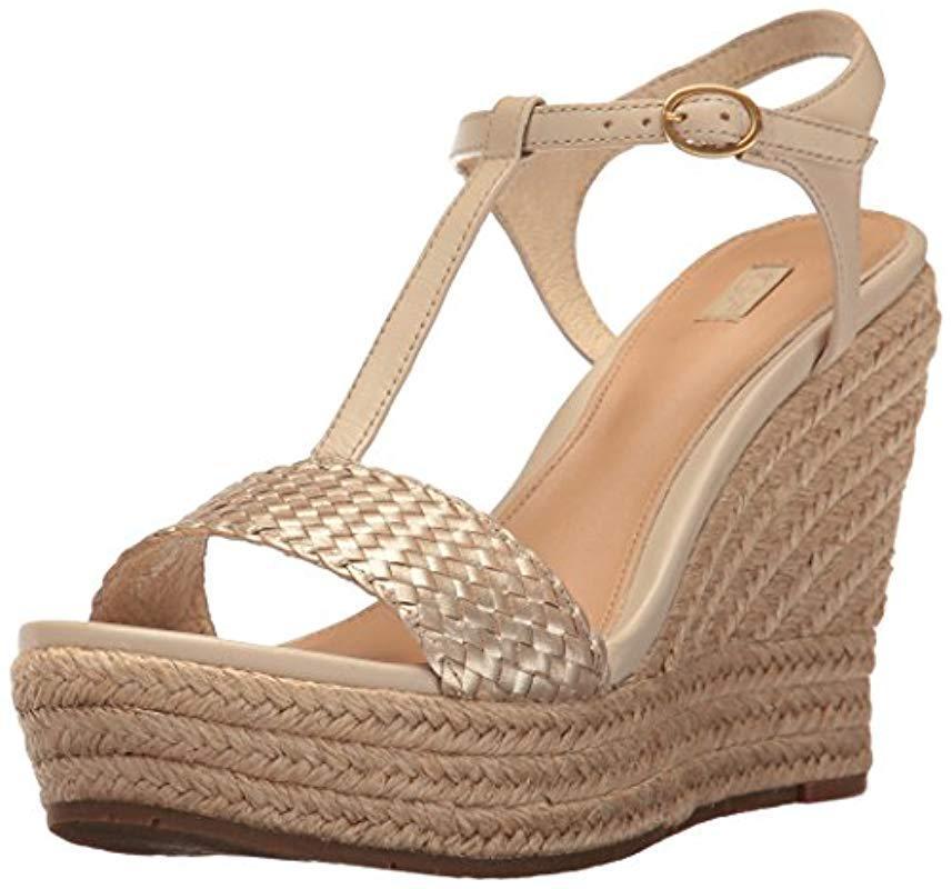 95b28646c58 Lyst - UGG Fitchie Ii Wedge Sandal - Save 50%