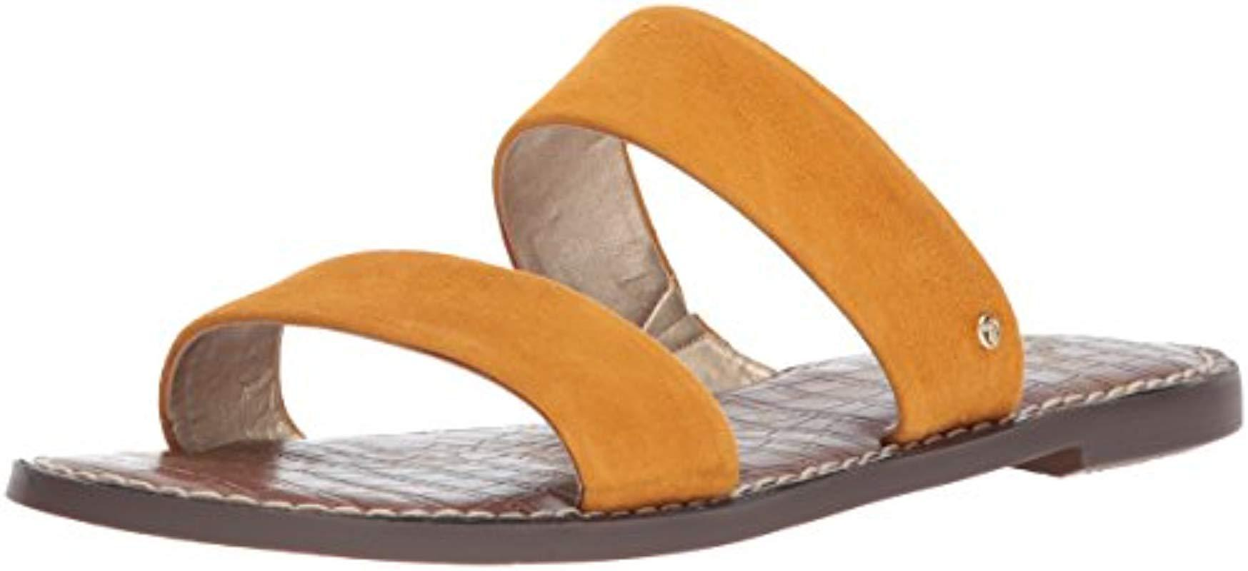 3b72eafdbd87 Lyst - Sam Edelman Gala Slide Sandal in Yellow - Save 31%
