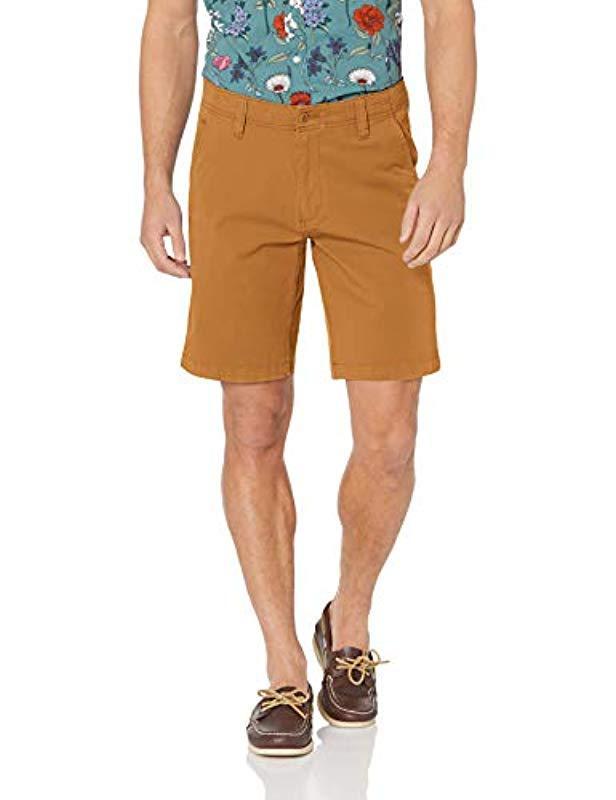 933736422d41 Lyst - Dockers Straight Fit Smart 360 Flex Short in Brown for Men