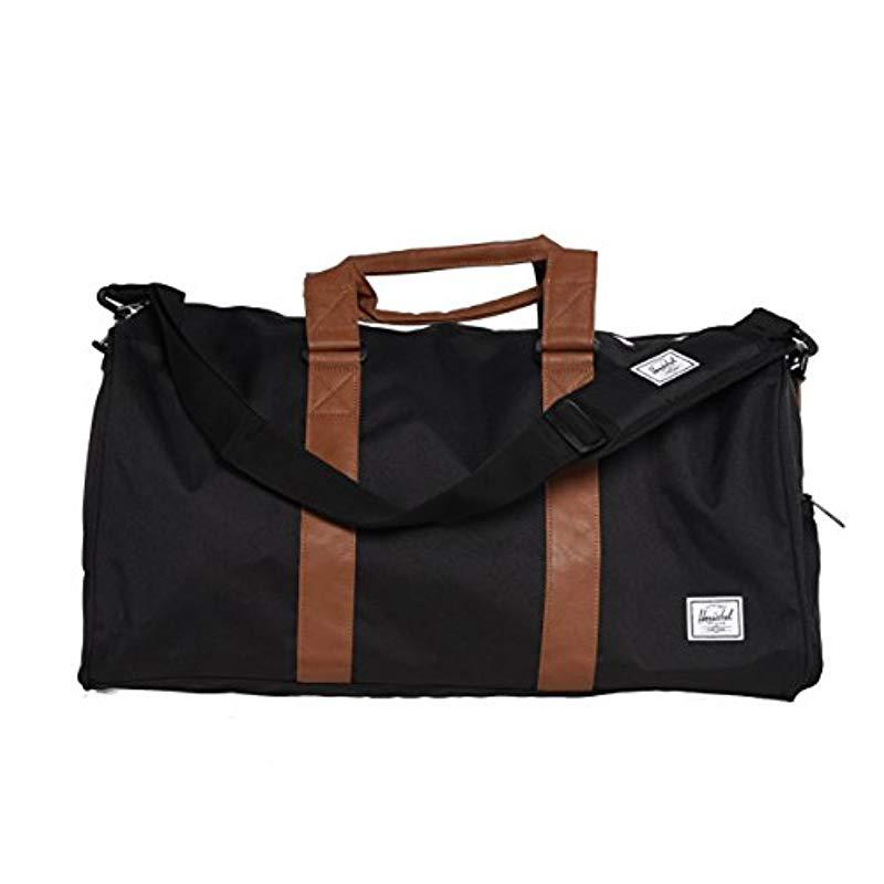 Herschel Supply Co. - Black Novel Mid-volume Duffel Bag for Men - Lyst.  View fullscreen 195ccd1c79107