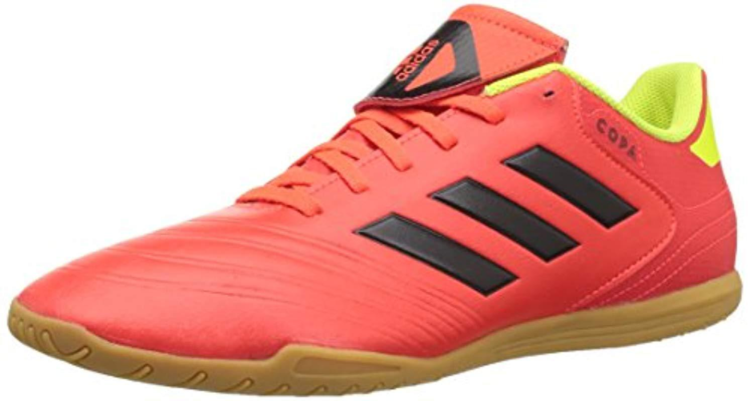 82dfb82be7f7 adidas Copa Tango 18.4 Indoor Soccer Shoe in Red for Men - Save 10 ...