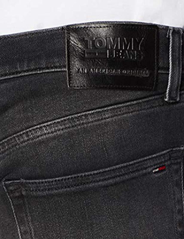 cf7c2dd5f1d Tommy Hilfiger - Black Original Ryan Straight Fit Jeans for Men - Lyst.  View fullscreen