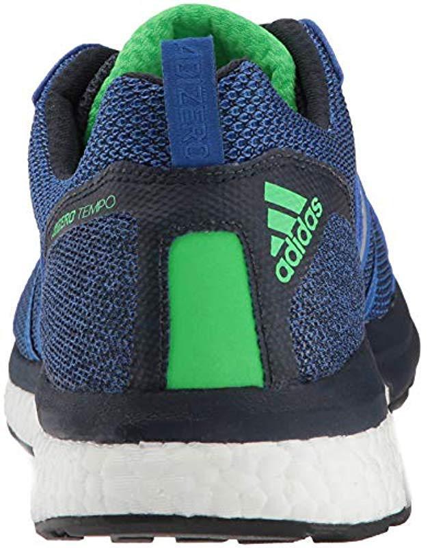 fe177931894 Lyst - adidas Adizero Tempo 9 in Blue for Men