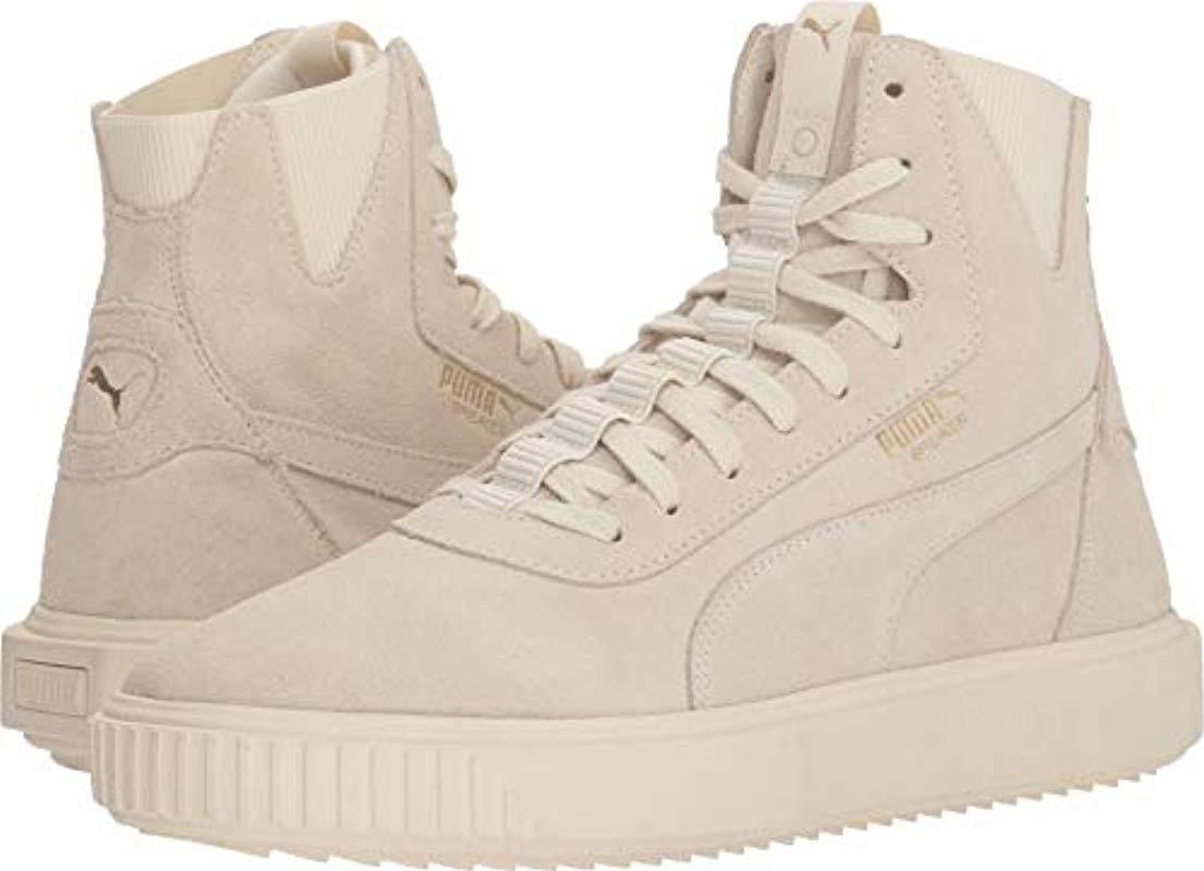 802e682d6ede Lyst - PUMA Breaker Hi Sneaker in White for Men - Save 34%