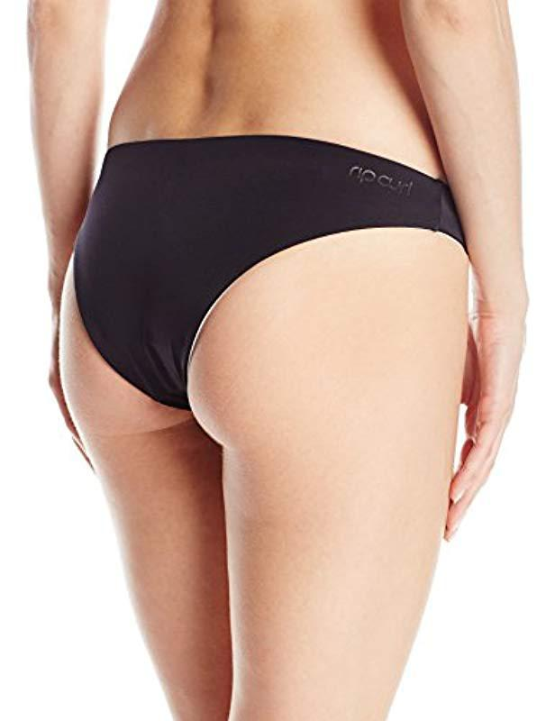 6229efb93adef Lyst - Rip Curl Mirage Colorblock Hipster Bikini Bottom