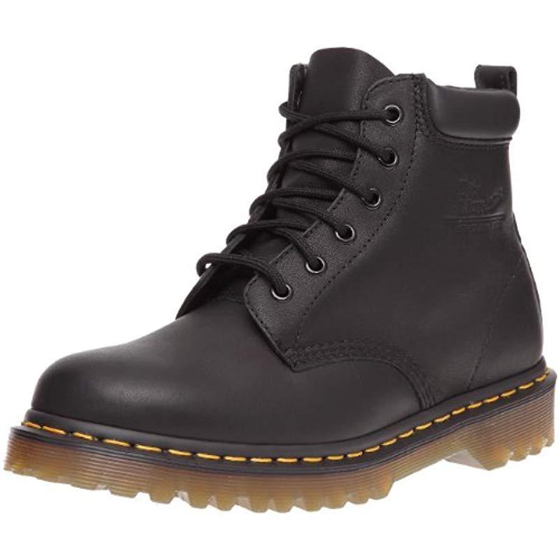 Lyst - Dr. Martens Unisex-adult 0939 Series Black Greasy Boot in ... 34de9dc56c66