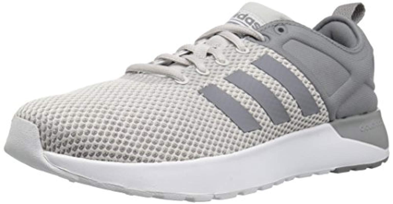 new arrival 53bef a2854 adidas. Mens Gray Neo Cf Super Racer Running-shoes