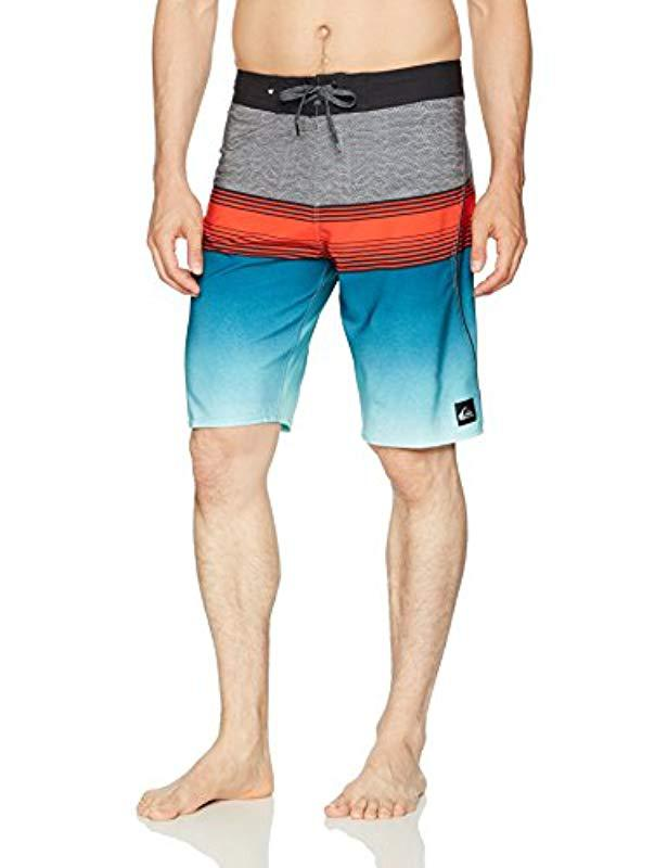 3bdfa6d99e Lyst - Quiksilver Division Fade 21 Boardshort in Blue for Men - Save 4%