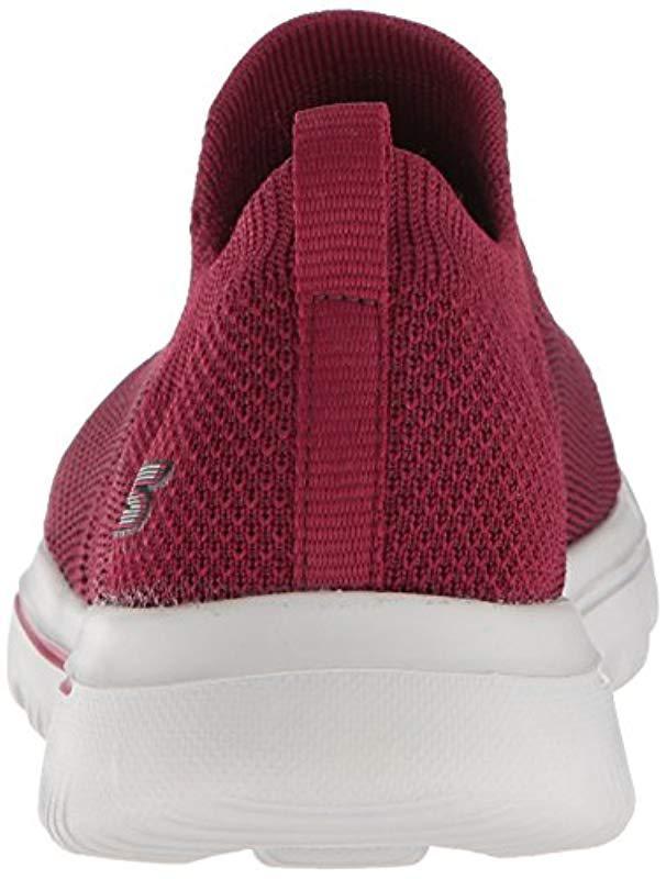 5cc7d3ab6d0d Lyst - Skechers Go Walk Evolution Ultra Sneaker in Red - Save 28%