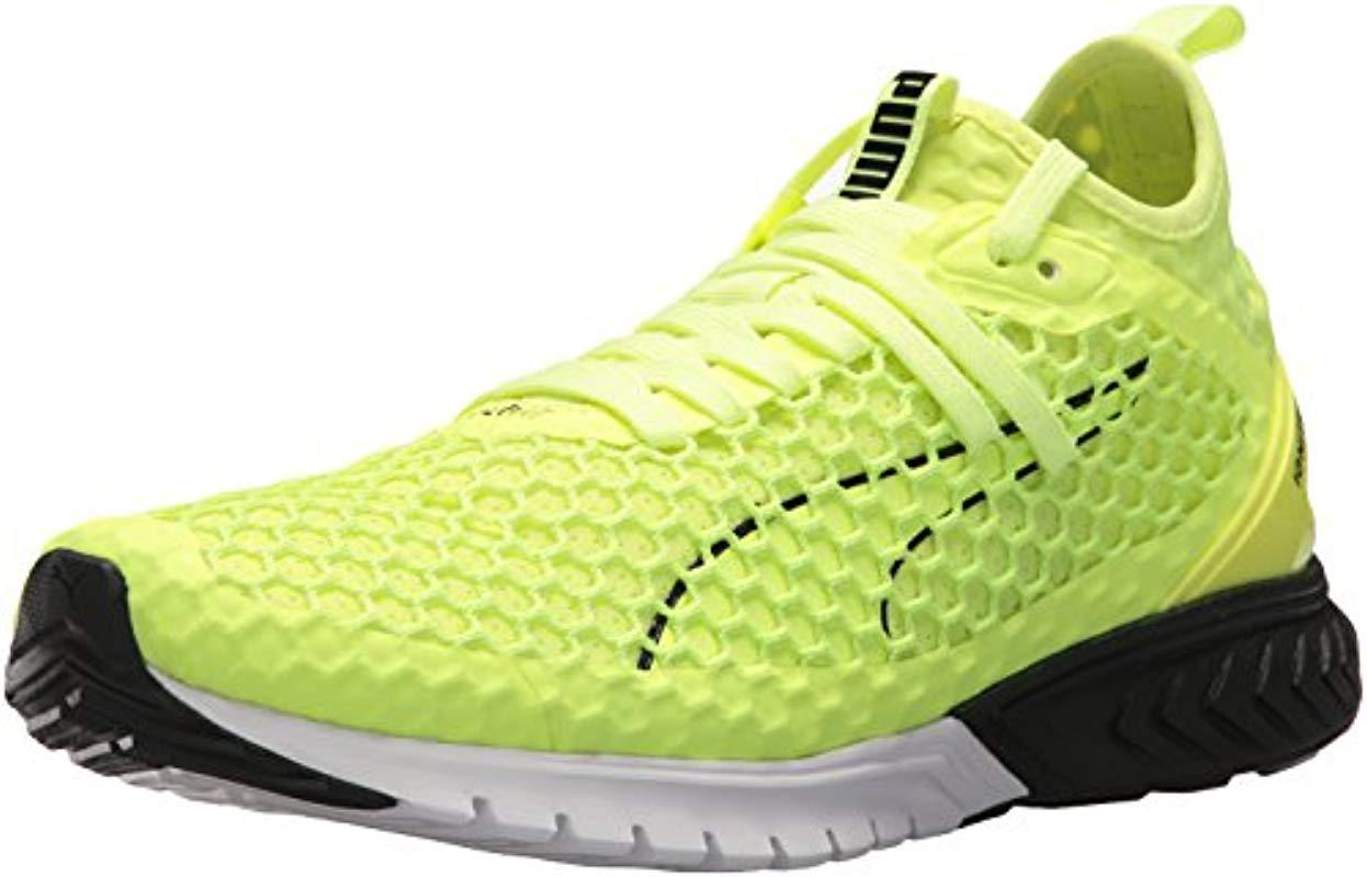 PUMA - Yellow Ignite Dual Netfit Cross Trainer for Men - Lyst. View  fullscreen 8c8d1aff6