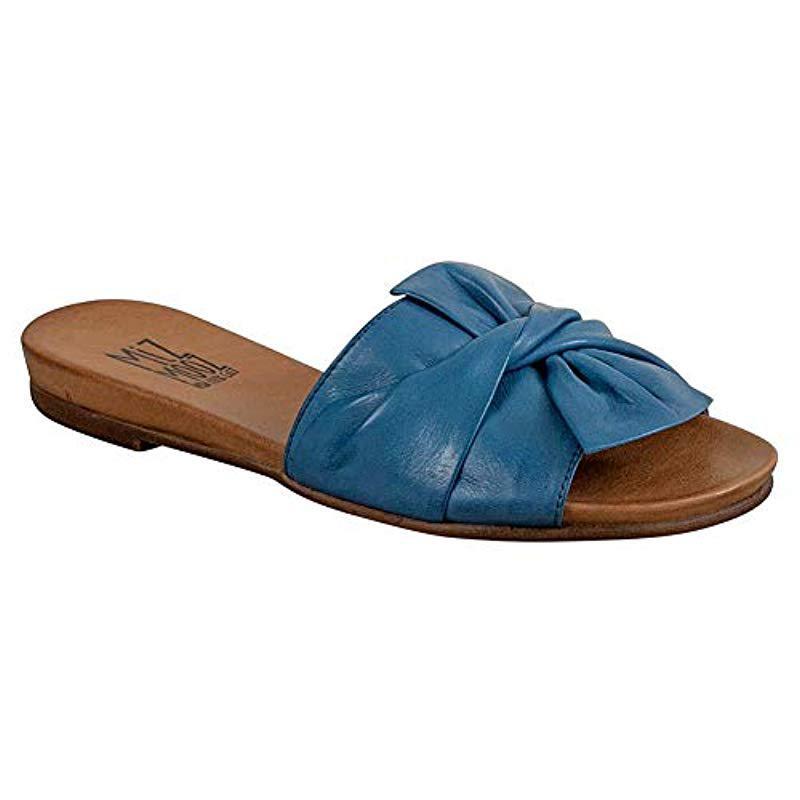 21b39d75fd7 Lyst - Miz Mooz Angelina Sandal in Blue - Save 18%