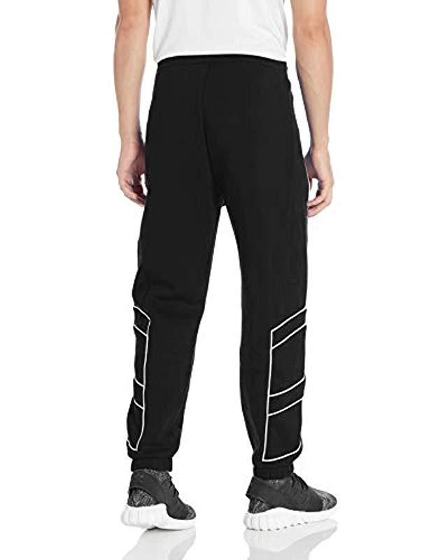 10810d2e11c1 Lyst - adidas Originals Originals Eqt Outline Trackpants in Black for Men