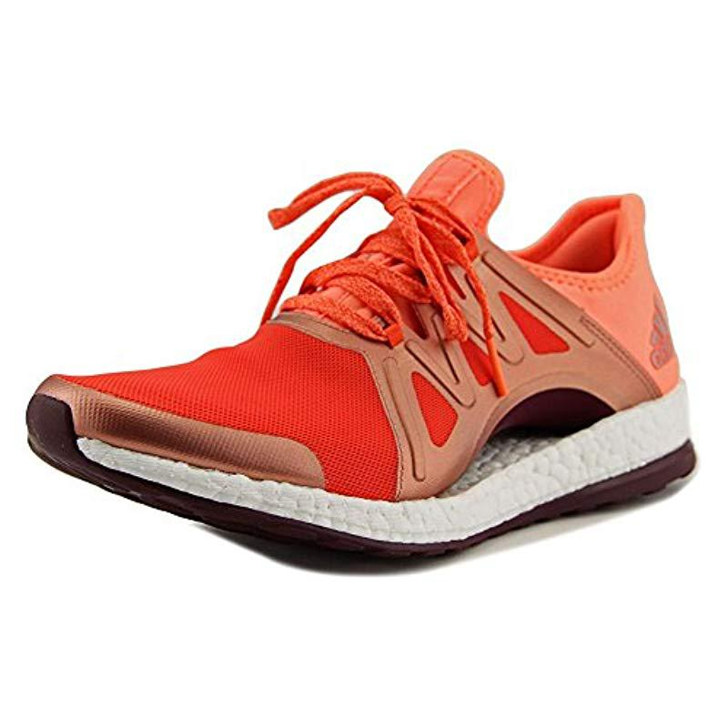 bfbc2b1bb Lyst - adidas Pureboost Xpose Women Us 10 Orange Running Shoe - Save 32%