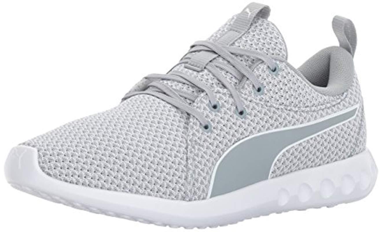 ae2bb3fd535405 Lyst - Puma Carson 2 Knit Wn Sneaker in White - Save 10.0%