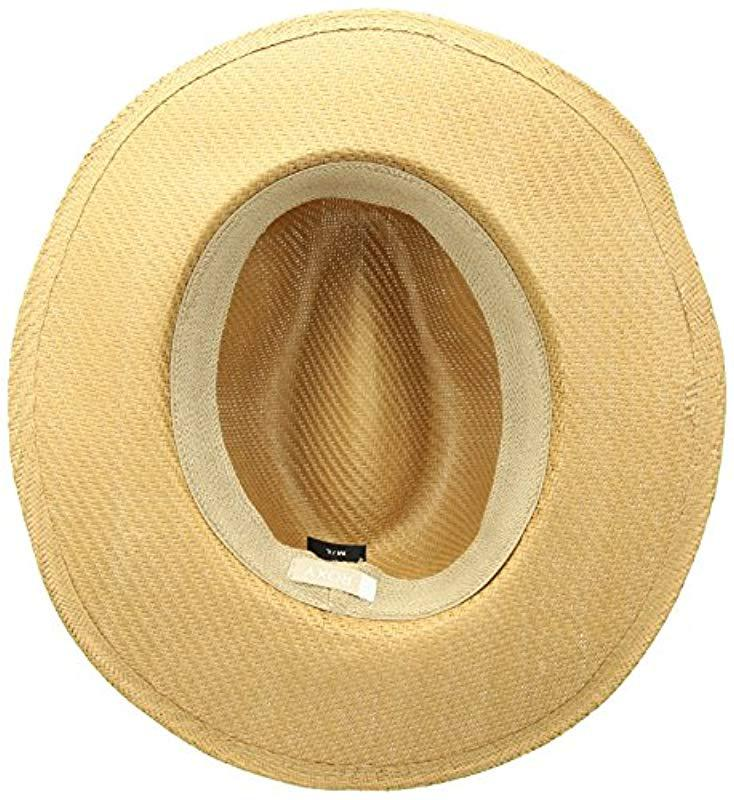 f14f46147d7 Lyst - Roxy Here We Go Straw Panama Hat in Natural - Save 3%