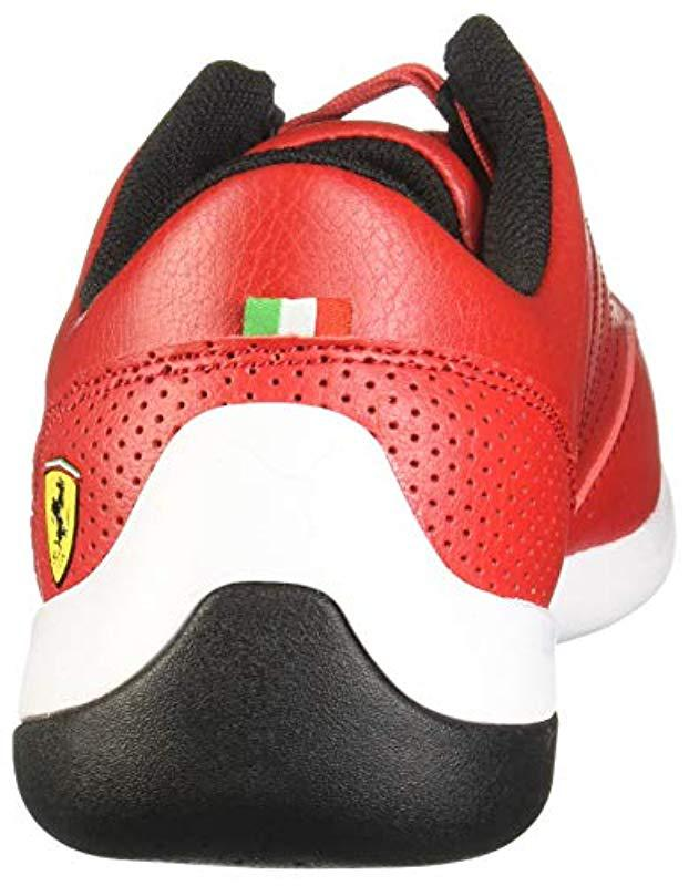 Lyst - PUMA Ferrari Kart Cat Sneaker in Red for Men d6de339d7