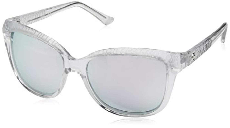 648a1d5cb4f Guess. Women s Acetate Square soft Cat-eye Sunglasses ...