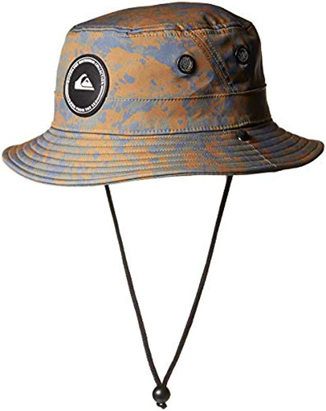 Lyst - Quiksilver Stay Cool Bucket Hat for Men - Save 47% 0a32e431b523