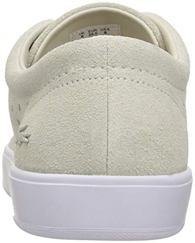 4f9864744606d9 Lyst - Lacoste Tamora Lace Up 216 1 Fashion Sneaker in White - Save  45.09803921568628%