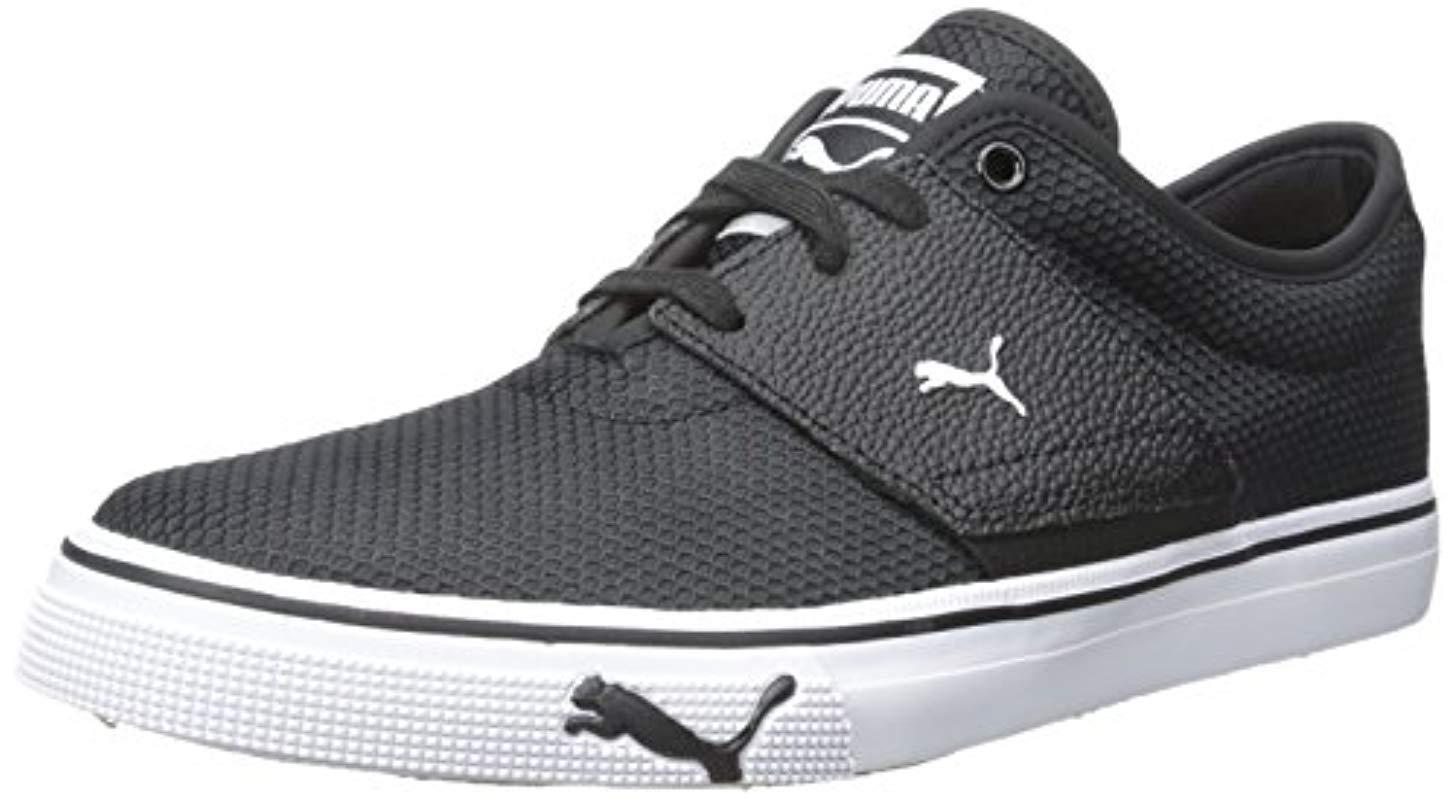 82efc0f421b503 Lyst - Puma El Ace Textured Fashion Sneakers in Black for Men