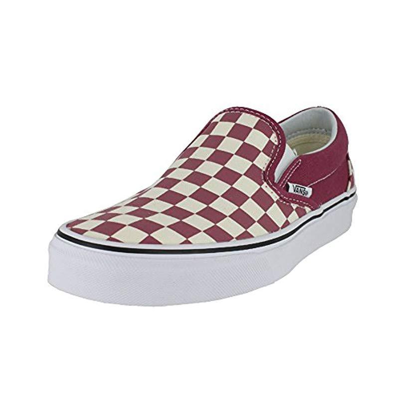 d93ca4660ccc Lyst - Vans Unisex Classic (checkerboard ) Slip-on Skate Shoe