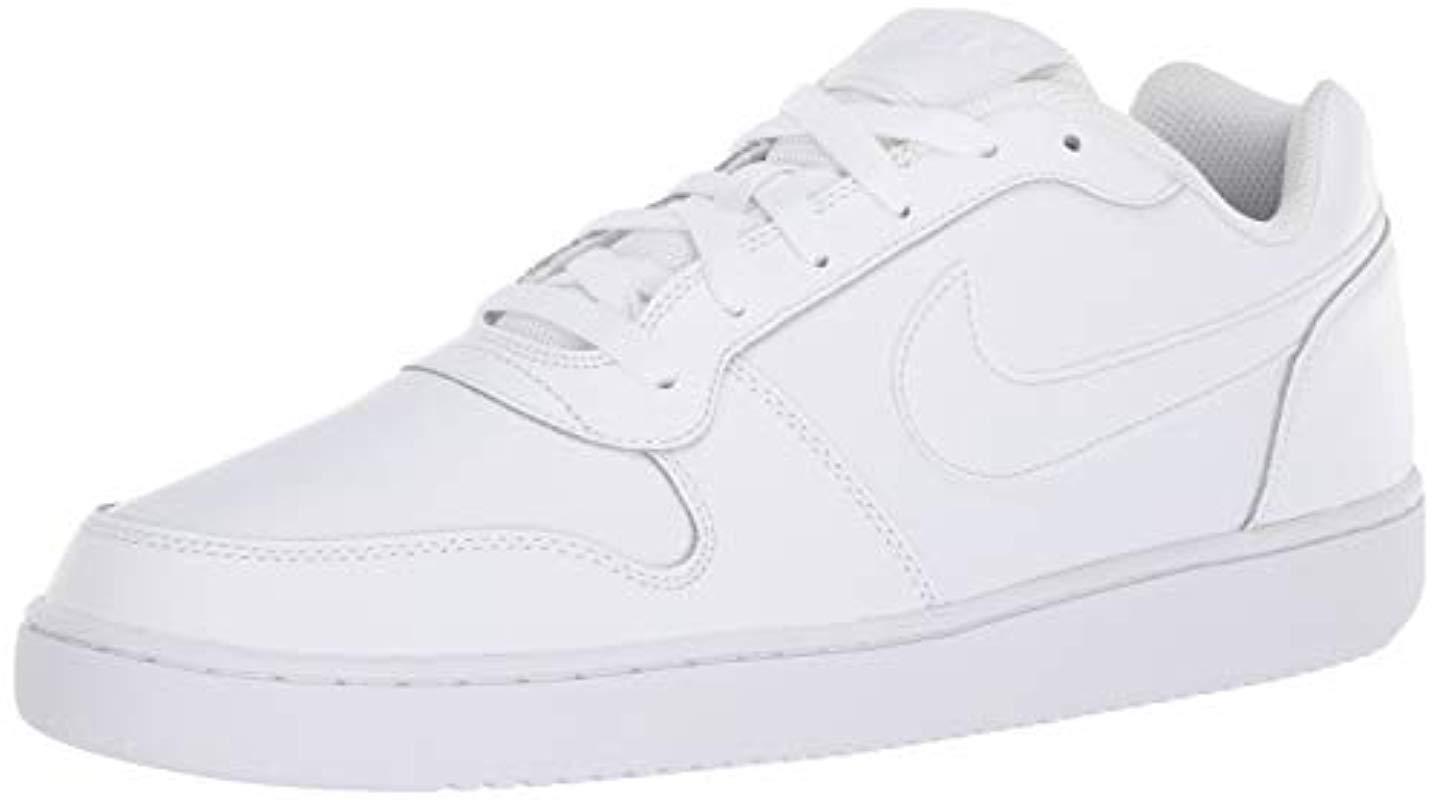 online retailer f5e1b 46a15 Nike. Mens White Ebernon ...