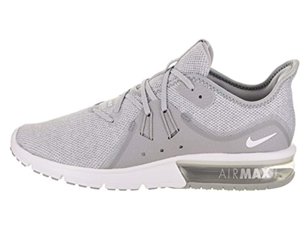 pretty nice 2841c eb863 Nike - Gray Air Max Sequent 3 Running Shoes Black light Grey for Men -.  View fullscreen
