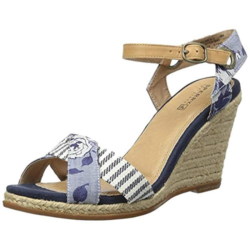 c02be9c2f8c6a3 Lyst - Sperry Top-Sider Top-sider Saylor Flip Flop in Blue - Save 66%