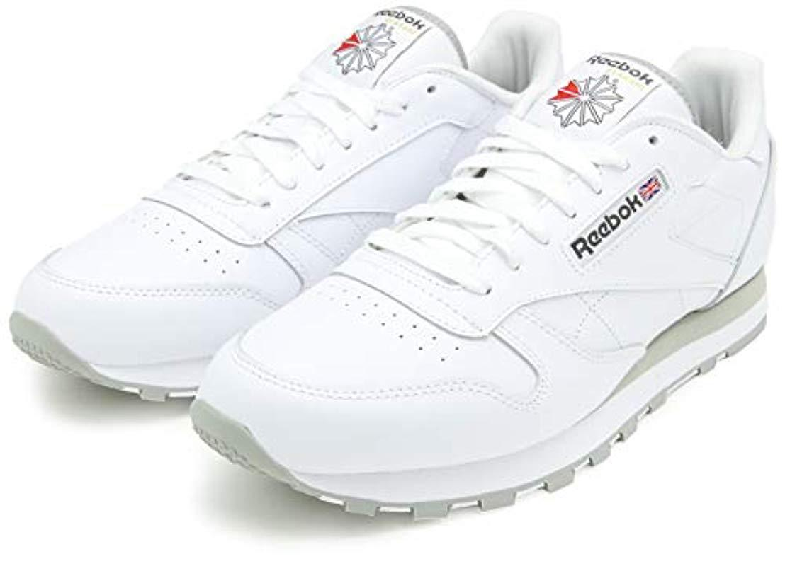 Reebok - White Classic Leather Gymnastics Shoes for Men - Lyst. View  fullscreen 03dc6aa23