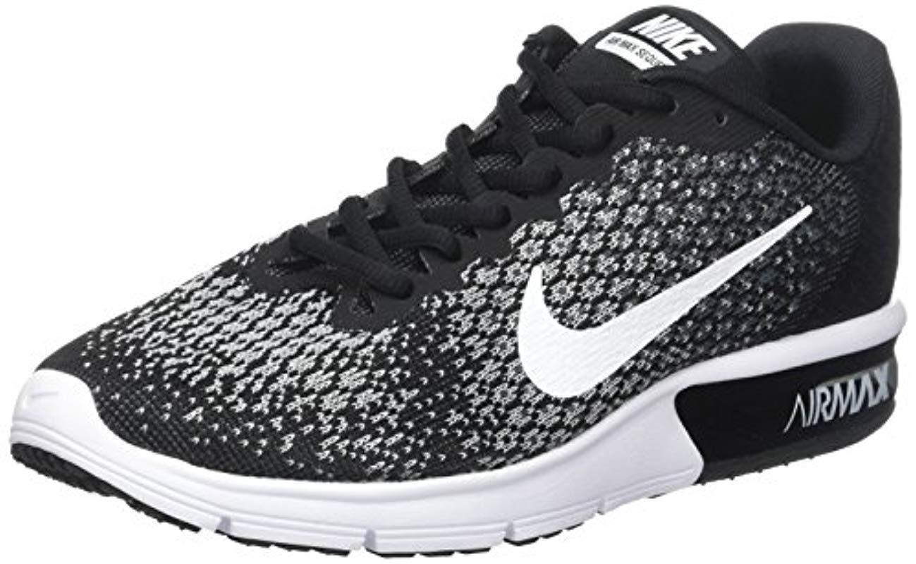 Nike  s Wmns Air Max Sequent 2 Running Shoes in Gray - Lyst 7e8940b71e