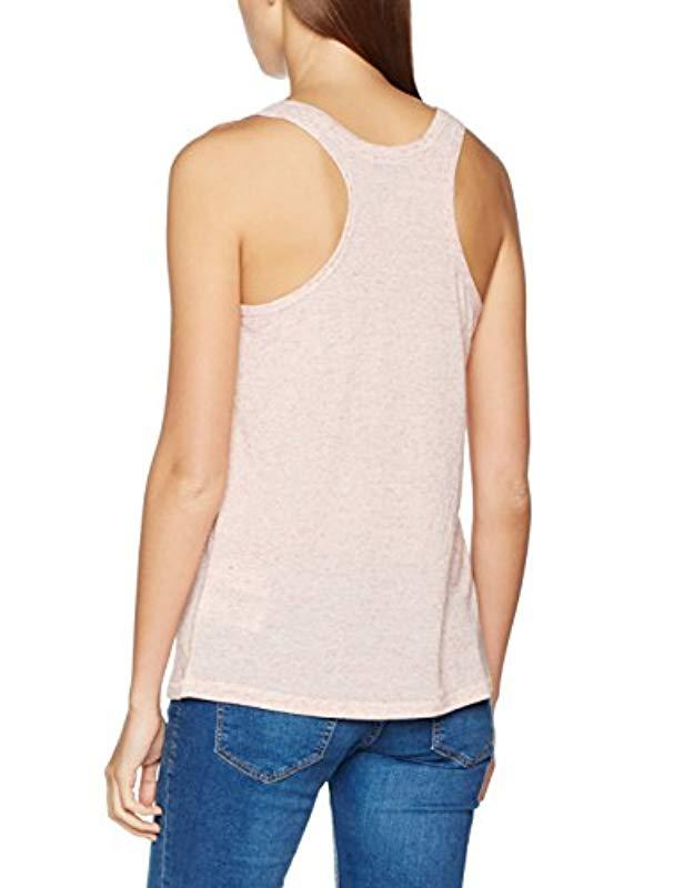 5a89c1e8ffcae Tommy Hilfiger Tank Top in Pink - Lyst