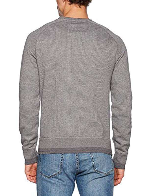 149765d7693 Tommy Hilfiger Abia Rgl C-nk L s Vf Long Sleeve Top in Gray for Men - Lyst